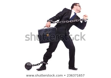 смешные · бизнесмен · наручники · белый · прав · полиции - Сток ...