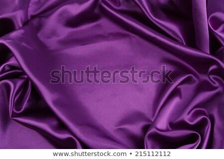 Stockfoto: Violet · satijn · detail · mooie · kleur · abstract