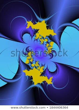 Fractal ilustração diamante flor projeto tecnologia Foto stock © yurkina