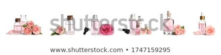 多くの 化粧品 ピンクの花 孤立した 白 花 ストックフォト © tetkoren