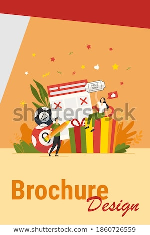 Ticket box vector   Stock photo © nezezon