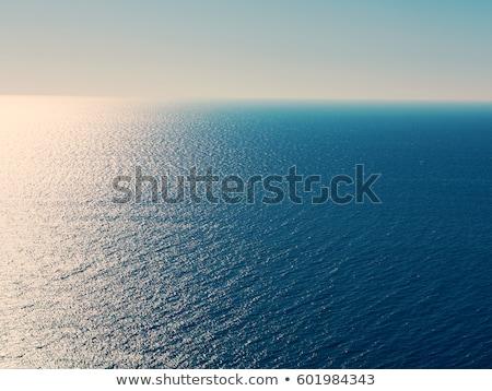 Pejzaż morski zmierzch długi czas ekspozycji plaży niebo Zdjęcia stock © Juhku
