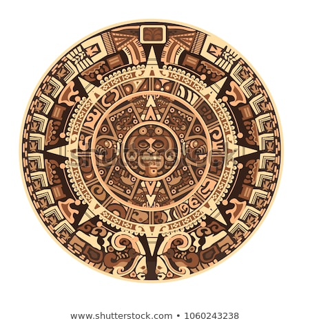 Mayan Incan sun - Maya, vector Stock photo © Morphart