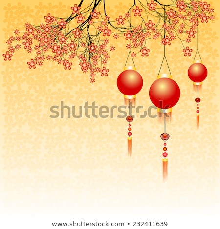 2016 New Year card with pink balls. Vector Illustration. stock photo © rommeo79