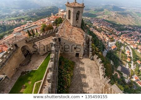 старые ворот Сан-Марино архитектура город путешествия Сток-фото © benkrut