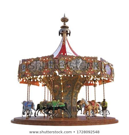 swing carrousel for children Stock photo © mayboro1964
