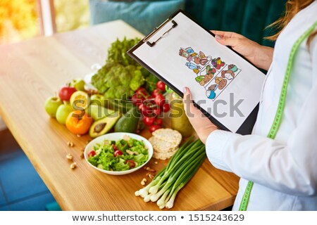 Nutritionist Concept Stock photo © Lightsource