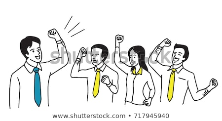 A simple sketch of a winner Stock photo © bluering