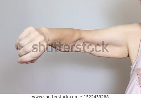 Stockfoto: Chirurgie · illustratie · vrouw · zorg · maag · gezondheidszorg