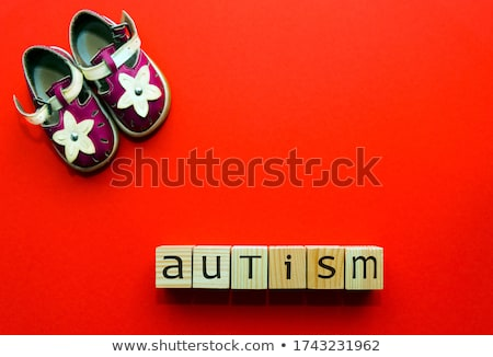 Kid shoes and word problems Stock photo © fuzzbones0
