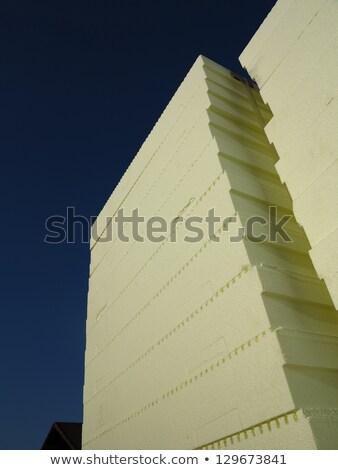styrofoam tables stock photo © simply