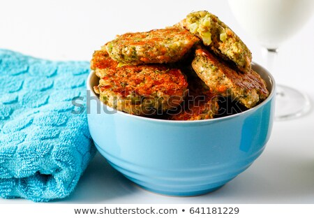 Cheesy Bites with garlic and blue cheese Stock photo © Peteer
