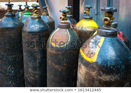 孤立した さびた 酸素 金属 錆 ガス ストックフォト © njnightsky