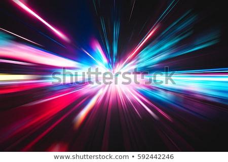 mistik · tünel · ışık · son · doku · bulutlar - stok fotoğraf © stevanovicigor