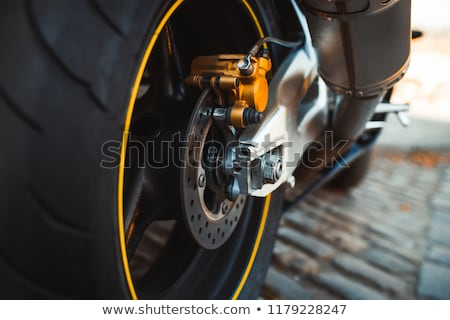 Honda sport motorbike tuning Stock photo © bezikus