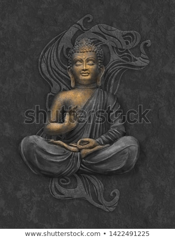 eski · budist · Sri · Lanka · şehir · bulutlar · taş - stok fotoğraf © zambezi