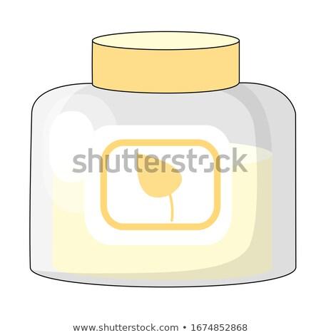 cosmetic cream vector illustration in flat design stock photo © robuart