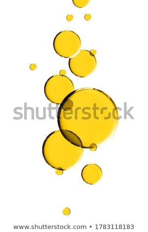 Olio drop isolato bianco illustrazione usato Foto d'archivio © smeagorl