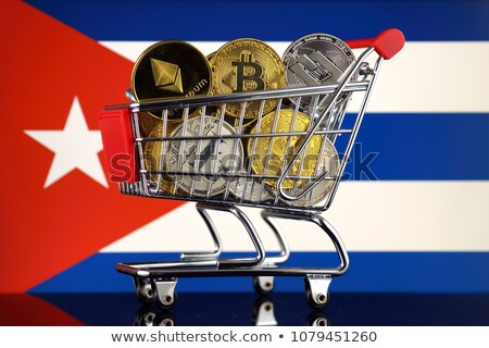 Shopping trolley with Cuban flag.  Stock photo © CaptureLight