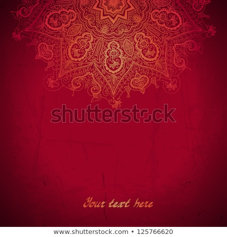 Background with ethnic ornaments Stock photo © blackmoon979