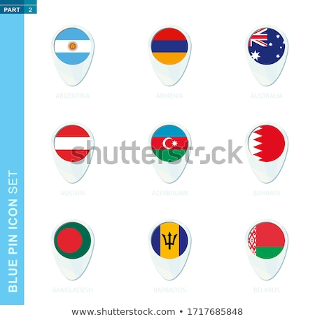 Round flag of belarus with circles pattern Stock photo © MikhailMishchenko