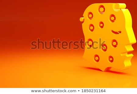 Hives. Medical Concept on Red Background. 3D Illustration. Stock photo © tashatuvango
