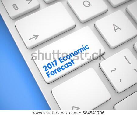 business · voorspelling · toetsenbord · sleutel · 3D · mannelijke - stockfoto © tashatuvango