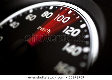 Car speed meter instrument board. Stock photo © IMaster
