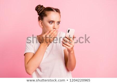 Retrato olhando adolescente pessoa Foto stock © monkey_business