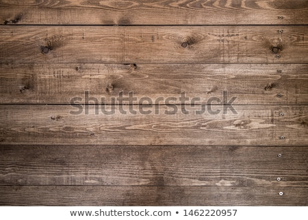 Wall made of wooden boards Stock photo © Kotenko