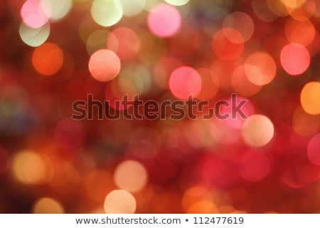 abstract light background red orange night lights Stock photo © lunamarina