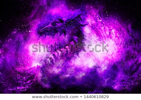 Purple dragon Stock photo © colematt