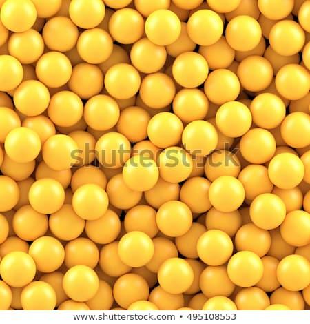 amarelo · piscina · bola · macro · tiro · espaço - foto stock © kotenko