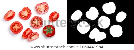 Middle globe tomatoes, top, paths Stock photo © maxsol7