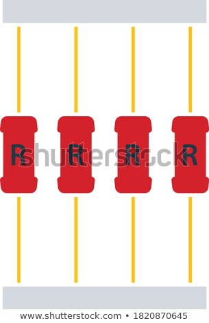 Resistor tape icon Stock photo © angelp