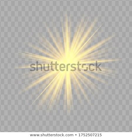 звездой вектора прозрачный эффект Сток-фото © tashatuvango