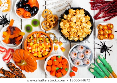 assortment of halloween treat for party stock photo © furmanphoto