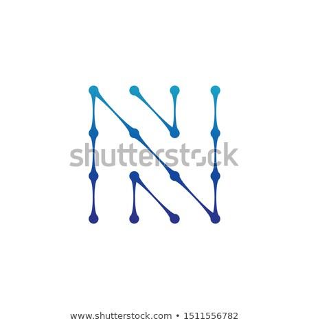 molekularny · struktury · line · ikona · wektora · odizolowany - zdjęcia stock © kyryloff