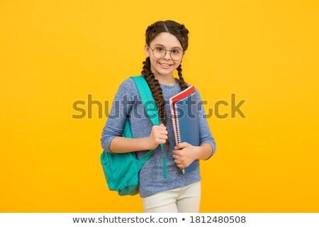 Powrót do szkoły edukacji wiedzy wektora dzieci posiedzenia Zdjęcia stock © robuart
