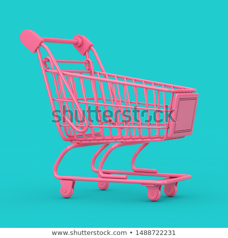 vazio · carrinho · de · compras · ilustração · branco · negócio · compras - foto stock © cidepix