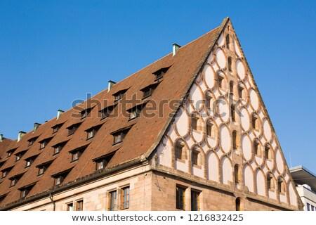 Niemcy urząd celny domu niebo miasta architektury Zdjęcia stock © borisb17