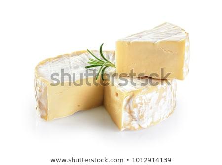 Camembert sajt izolált fehér felső kilátás Stock fotó © Bozena_Fulawka