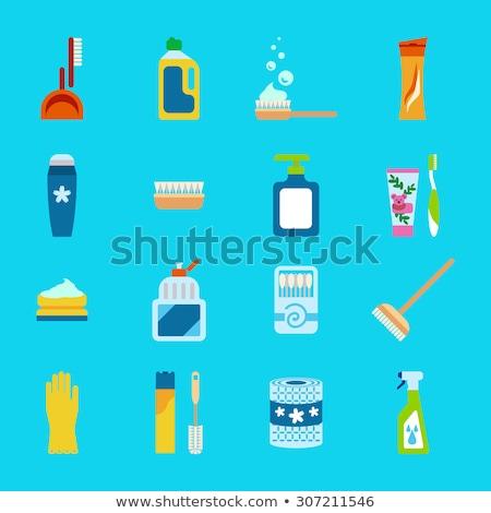 Higiene productos limpieza desodorante bano Foto stock © foxbiz