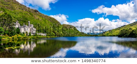 Landscape with lake in Galway county, Ireland Stock photo © borisb17