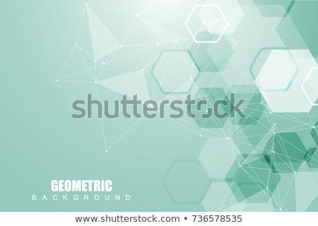 Vector resumen estructura patrón ciencia combinación Foto stock © designleo