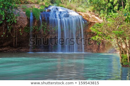 滝 ベトナム 夏 日 空 花 ストックフォト © bloodua