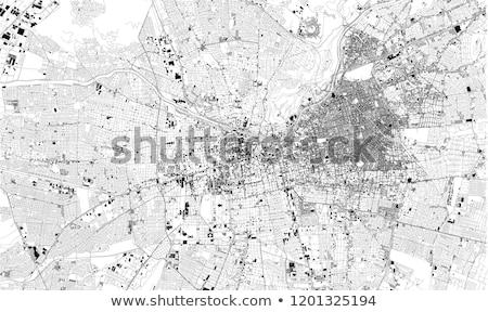 Сантьяго · Чили · шоссе · знак · облаке · улице · знак - Сток-фото © kbuntu