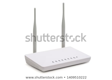 wireless · internet · router · isometrica · 3D · computer - foto d'archivio © Vectorminator
