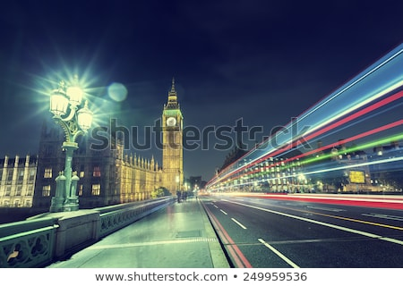 Westminster rua luz abadia Londres adorar Foto stock © ribeiroantonio