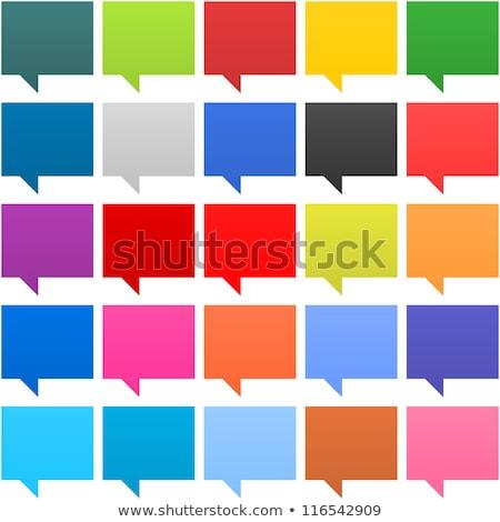 Bubbles for speech. EPS 8 Stock photo © beholdereye